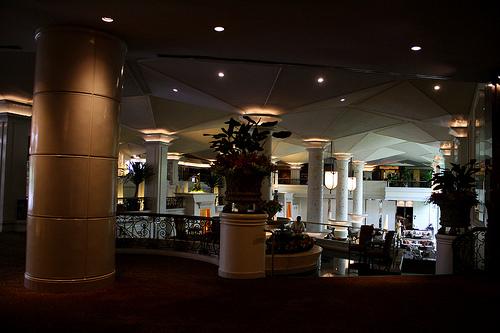 バンコクのデュシタニホテルの様子